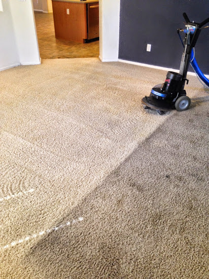 Carpet Cleaning Before and After Photo - Holts Carpet Cleaning - Surprise, AZ